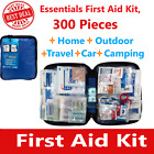 First Aid Kit Emergency Bag Home Car Outdoor, All Purpose Kit, Portable 300 pcs