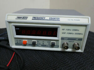 TestLab FC5250 10Hz to 200MHz Frequency Counter Meter Calibration Tuning