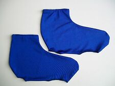 Lycra Time Trial Overshoe Blue  Size M