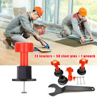 75Pcs/Set Reusable Anti-Lippage Tile Leveling System Locator Ceramic Floor Wall
