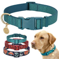 Personalized Dog Collar and Pet ID Name Tag Engraved for Small Medium Large Dogs