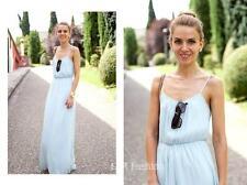 Zara maxi abito con dettaglio in pizzo Taglia Small (B15) RIF: 0881 201