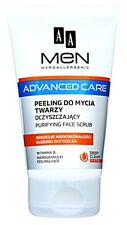 AA Cosmetics Men Advanced Care Purifying Cleansing Gel Scrub for Face blackheads