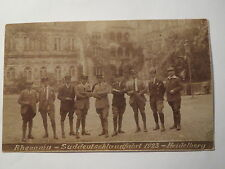Heidelberg - Rhenania - Süddeutschlandfahrt 1923 / Studentika