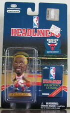 1997 Dennis Rodman Chicago Bulls Gold Hair Corinthian Headliners mint on card