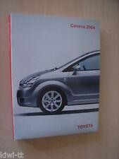 Toyota Geneva Motor Show 2004 (u.a. Fine-N, M.Triathlon Race Car) Pressemappe, D