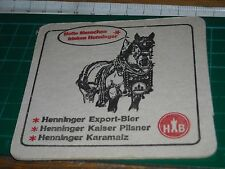 sottobicchiere beer mats birra bierdeckel henninger hb 060317
