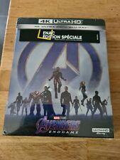 Steelbook Avengers Endgame 4K Ultra HD édition Fnac