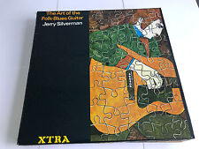 Jerry Silverman ‎– The Art Of The Folk-Blues Guitar MINT/EX  XTRA 1096