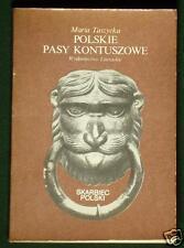 BOOK Antique Polish Kontusz Sash polonaise belt Oriental fashion history POLAND