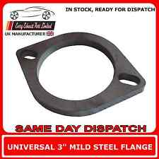 3 Inch Exhaust Pipe 77 x 10mm Thick Mild Steel Exhaust Flange
