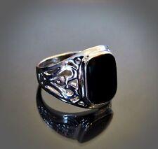 Herrenringe  Herren-Ringe im Siegel-Stil ohne Stein | eBay
