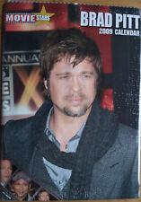 Brad Pitt Kalender 2009 Spiralbindung 30 x 42 cm 12 Poster + Sticker