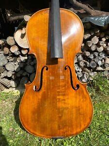 Old Italian model Violin Cello signed ''LAURENTI ALFREDO'' in Terni 1937