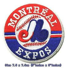 Montreal Expos Baseball Sport Patches Logo Embroidery Iron on ,Sewing on Fabric