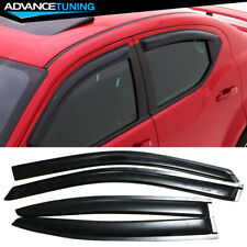 Fits 08-14 Dodge Avenger Acrylic Window Visors 4Pc (Fits: Dodge Avenger)