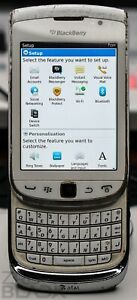 BlackBerry Torch 9810 - 8GB - White - AT&T - Will Not Boot Up