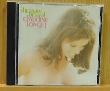 Claudine Longet The Very Best of Claudine Longet (CD, 2000, Varèse Vintage) VG++