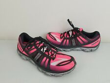 dcfd048fd72 Womens Brooks Pure Flow 2 Hot Pink Black Running Shoes. Size 11 B