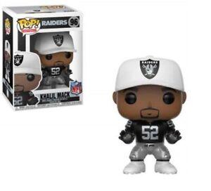 Funko Pop! Football Khalil Mack NFL (Raiders) Vinyl Figure #96