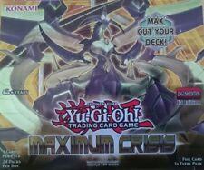 Maximum Crisis Rare Yu-Gi-Oh! Individual Trading Cards