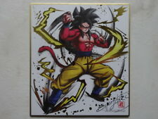 DRAGON BALL SUPER SHIKISHI ANIME CEL HAND-SIGNED by AKIRA TORIYAMA JAPAN Z