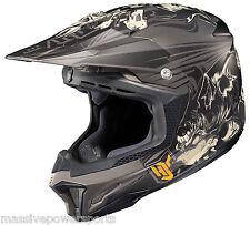 HJC CL-X7 Motocross Helmet EL LOBO Matte Gray XL Extra Large ATV Off Road Snell