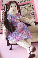 ADORABLE My Friend Wendy Doll/Toy/Crochet Pattern INSTRUCTIONS ONLY