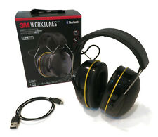 3M Worktunes Wireless Headphones, Connect Hearing Protector with Bluetooth 24 dB