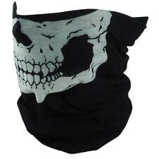 Skeleton Skull Half Face Mask Motorcycle Biker Ski Snowboard Masks Bandana Wrap