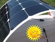 50w Flexible Solar Panel, Lightweight, Caravan, Boats, Camper, Motorhome etc