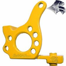 Powder Coated Yellow Iron Dial 34mm IronWorkHorse Frame
