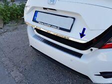 HONDA Civic FC5 2016Up CROMO Bagagliaio Posteriore Portellone Coperchio Trim Stampaggio ACCIAIO S.