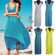 Cotton Blend Casual Maxi Dresses for Women