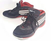 Adidas TS Cut Crtr T-MAC Mens Size 12 Sneakers Black White Red Basketball Shoes