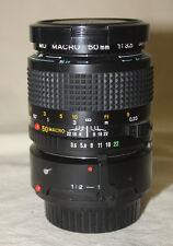 MINOLTA MD MACRO 50mm1:3.5 lens with 1:1 adapter euc