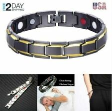 Obsidian Bracelet (For Men) Sleep Aid Magnetic Therapy