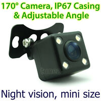 Car Parking Reverse Rear View Colour Backup Camera Night Mode LED 170 Degree