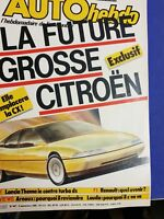 Auto hebdo N°487 Lancia Thema turbo ie.1000 km de Spa.