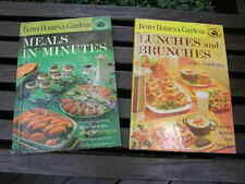 1184) Lot 2: Better Homes & Gardens Lunches & Brunches; Meals In Minutes 1963 HB