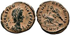 CONSTANTIUS II (351-354 AD) Ae3 Follis. Cyzicus #PA 8803