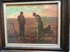 """L'ANGELUS DE MILLET  """"Wall Art Print Picture""""   49X60 CM ENCADRE  74/3800"""
