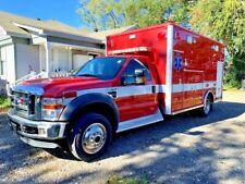 2008 Ford F-450 4X4 6.4L Diesel Type I Ambulance