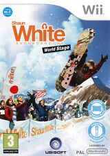Shaun white snowboarding: world stage nintendo wii #K2032