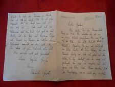 Original Brief Herbert Richter Leipzig 17.08.1941
