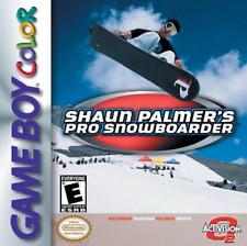 Shaun Palmer''s Pro Snowboarder GBC New Game Boy Color