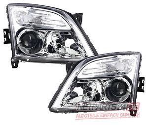 für Opel Vectra C ab 2002-2005 Xenon Scheinwerfer als Satz links & rechts chrom