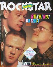 ROCKSTAR 53 1985 Bronski Beat Tom Verlaine Smiths Deep Purple Boy George AC/DC