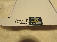 Vintage Fujifilm XD Picture Card 64MB Memory Card for Fuji Olympus & Others