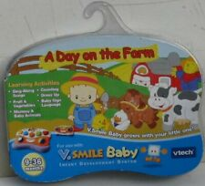 A DAY ON THE FARM – V. SMILE BABY – vtech – NEW
